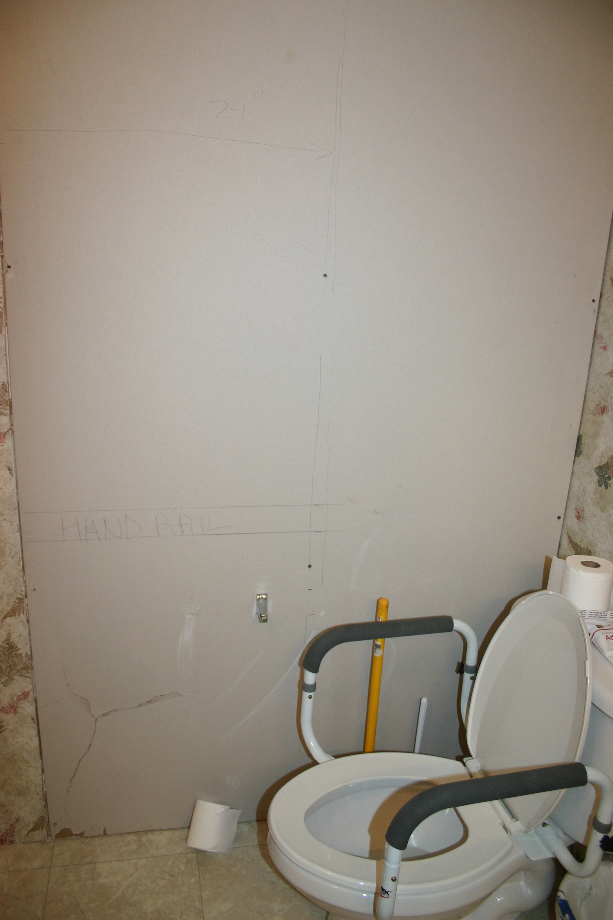 annie green bathroom wall...not on list